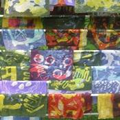 Drying Beautiful Batiks