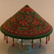 hand-beaded-sumatran-farmers-hat