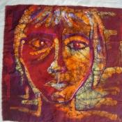 Batik Portriats by Carrie Cohen