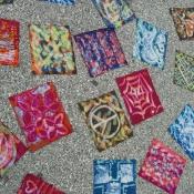 Beautiful Driveway Batik Art
