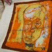 Sewing Embellished Carries Batik