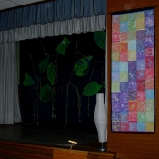 Folkshul Batik on Half the Stage