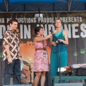 laura-being-interviewed-at-the-made-in-indonesia-festival-washington-dc