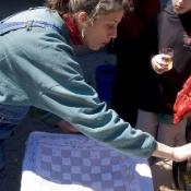 laura-waxing-a-chess-board
