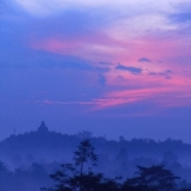 Boroburdur at Dawn Central Java
