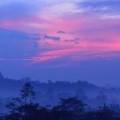 Boroburdur at Dawn