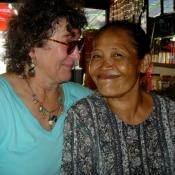 Connie and Ibu Kartini