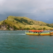 En Route to Komodo Island