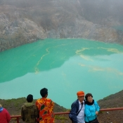 Lake Kelimutu Wilds Colors