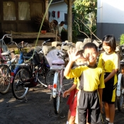 School Kids in Central Java