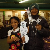 Shadow Puppet Workshop - 2012