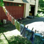 drying-all-the-batik-squares