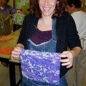 Artist Art Teacher at in Service Day Upper Darby
