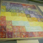 French School Final Batik Panel